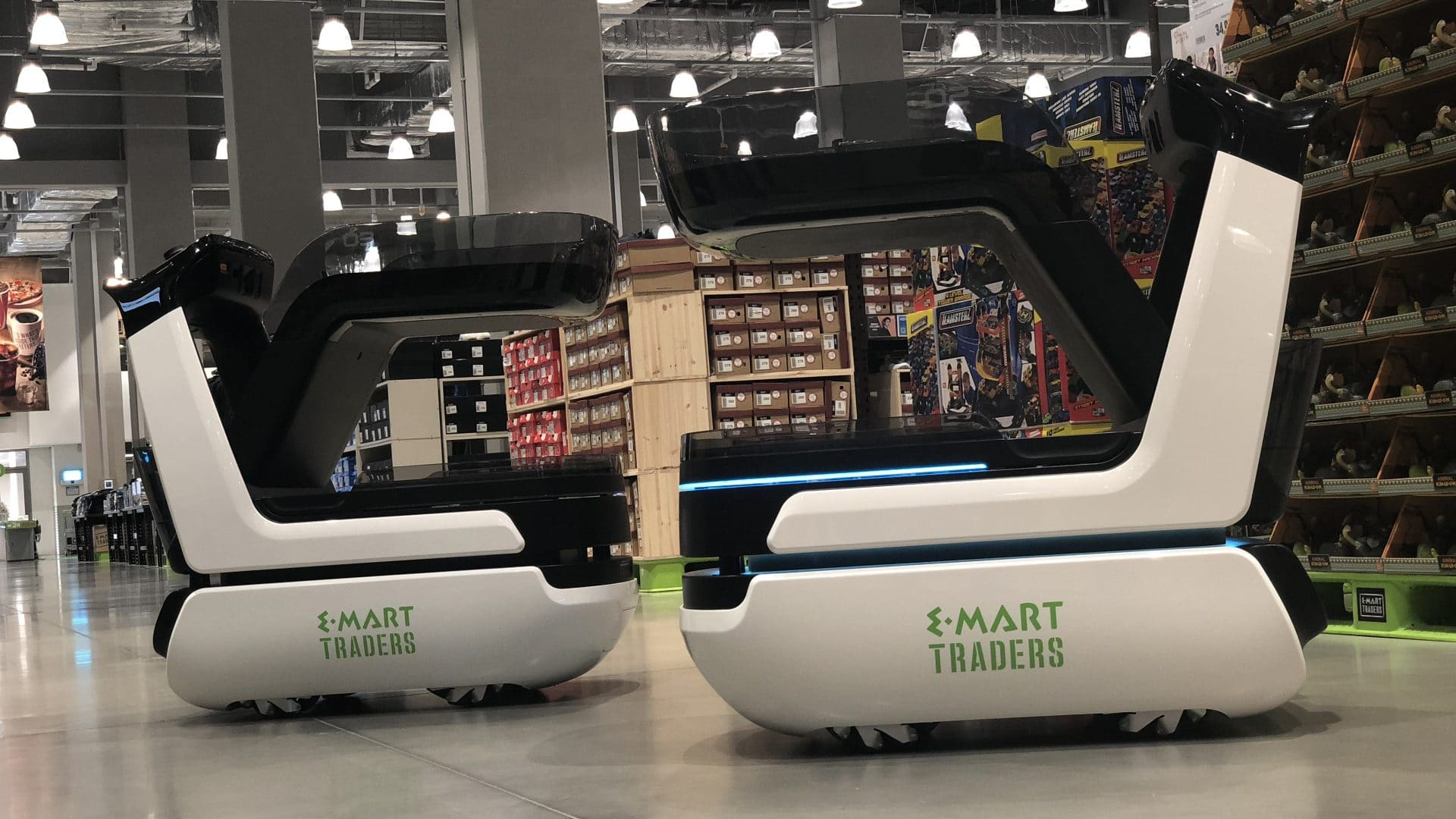 Robotnik fabrica el primer carro de la compra inteligente