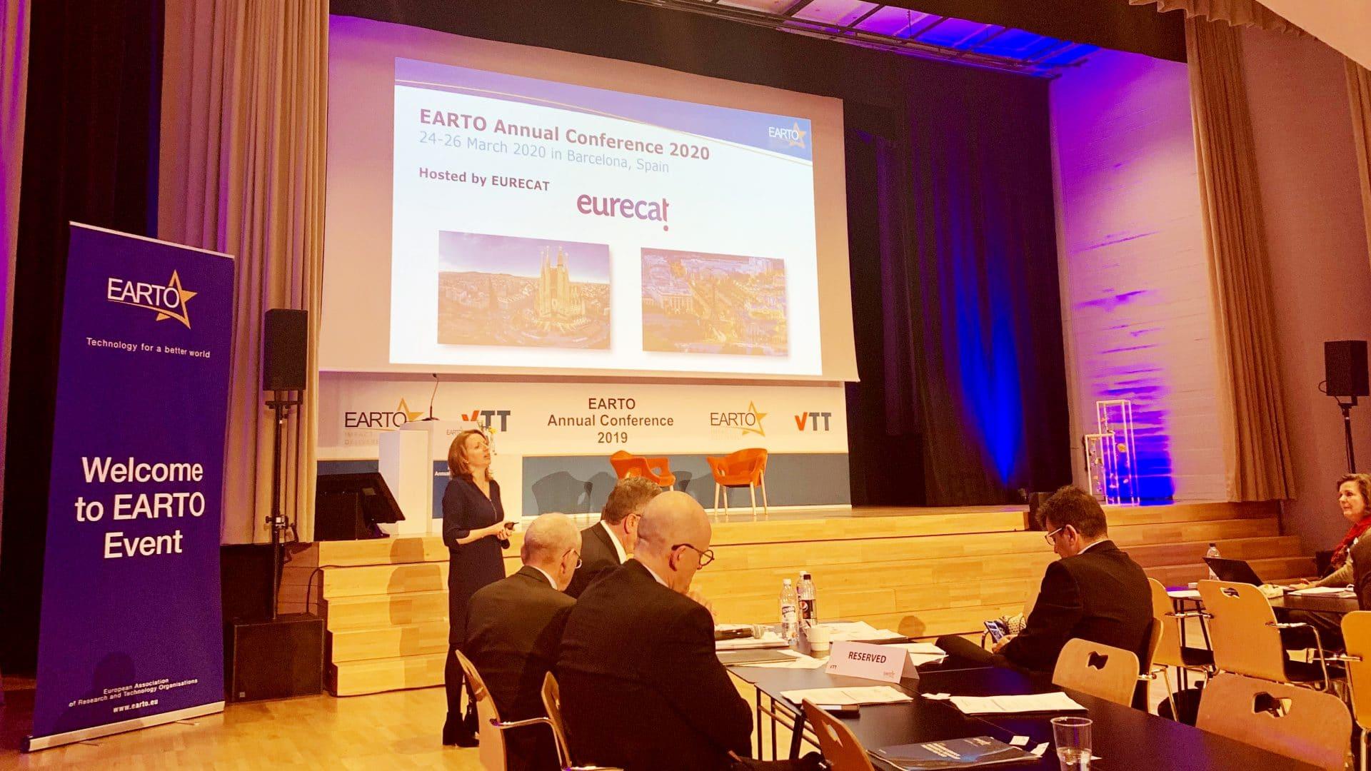 Barcelona acogerá la Conferencia Anual de EARTO, la asociación europea de investigación y tecnología