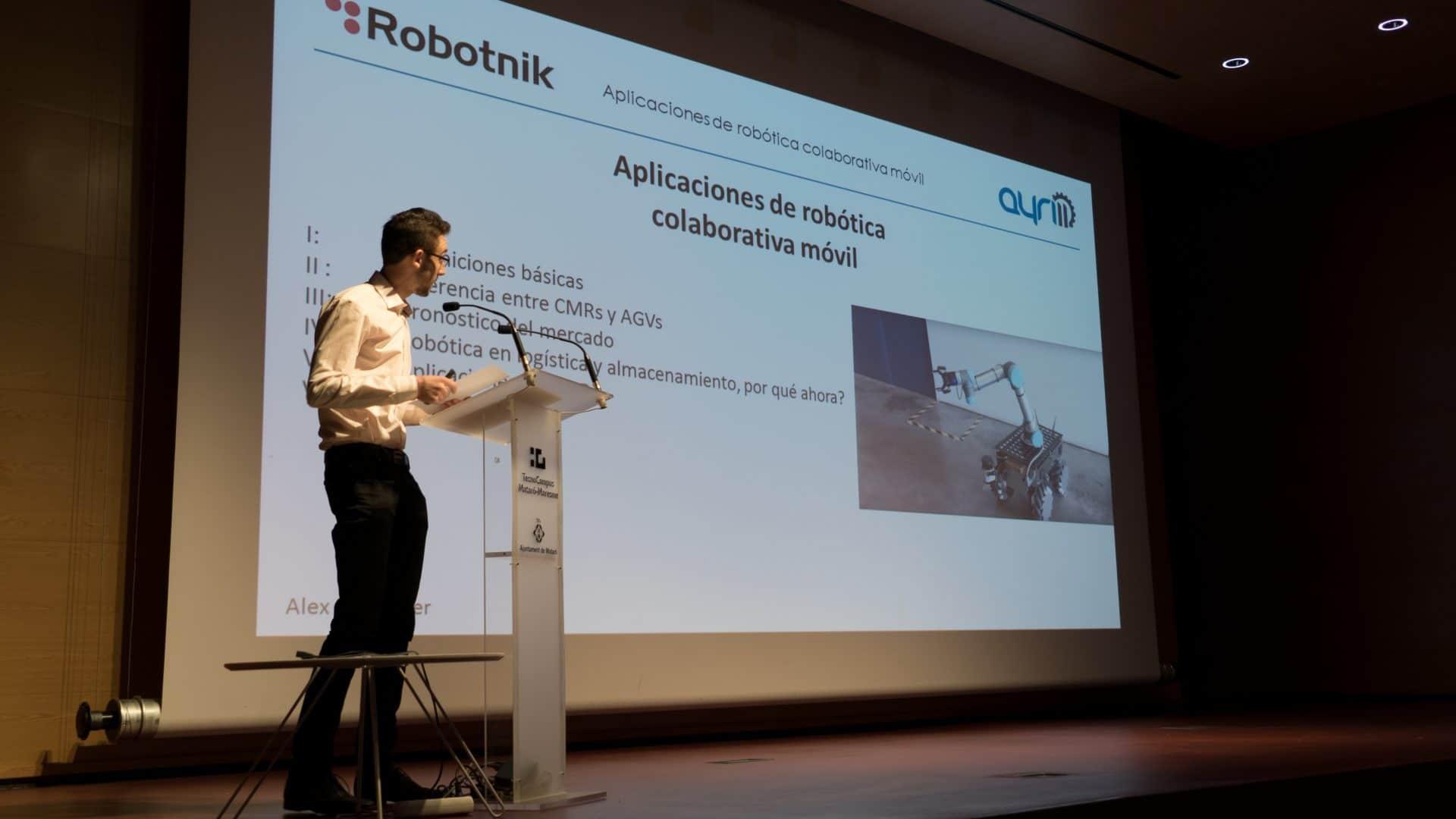 Robotnik en el ayri11 2018