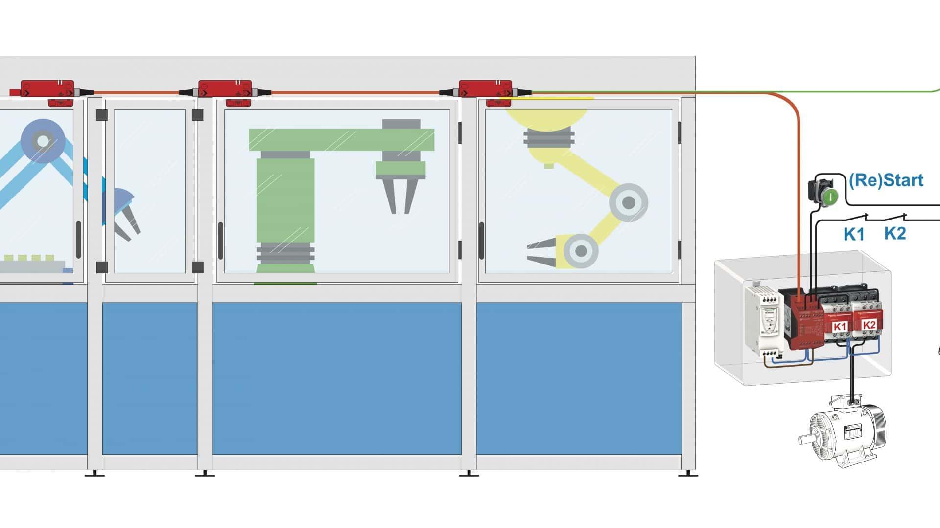 Un nuevo sensor de seguridad RFID sin contacto facilita la protección de los empleados en entornos industriales peligrosos